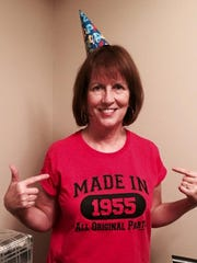 Mary Cullen of Ann Arbor, who turns 60 this year, believes in #seizethedays.