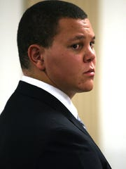 Donovan Allieri pleaded guilty to causing the death of his now former girlfriend's dog, following an addiction to painkillers and then heroin. Morristown, October 27, 2010