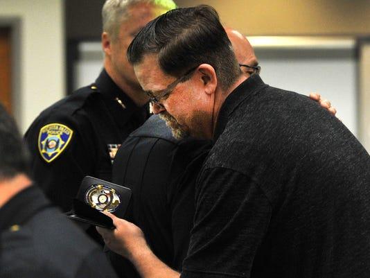 WFPD Officer Brad Love Retires