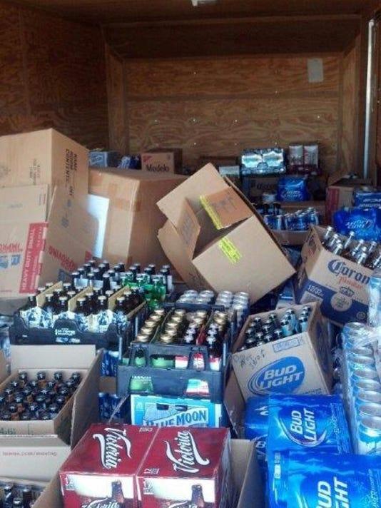 Beer Seizure