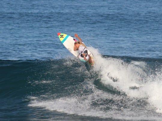 Melbourne Beach's Rachel Presti, 15, who trains in