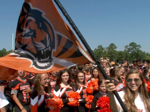 Barnegat High School students participate in the Red