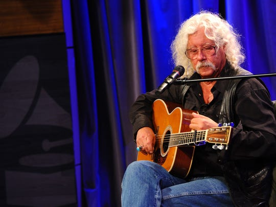 Folk singer/songwriter Arlo Guthrie keeps his father's