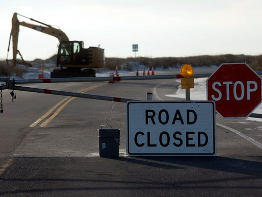 Ft. Pickens Road Closure