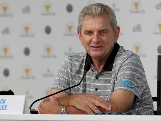 Nick Price has joined the USGA's executive board.