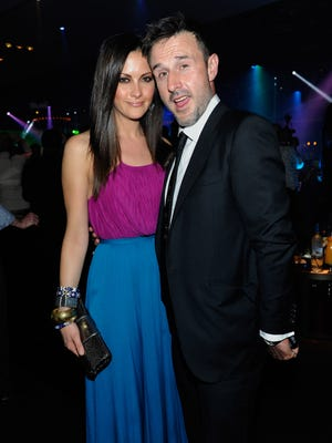 David Arquette and Christina McLarty got engaged on July 2, 2014.
