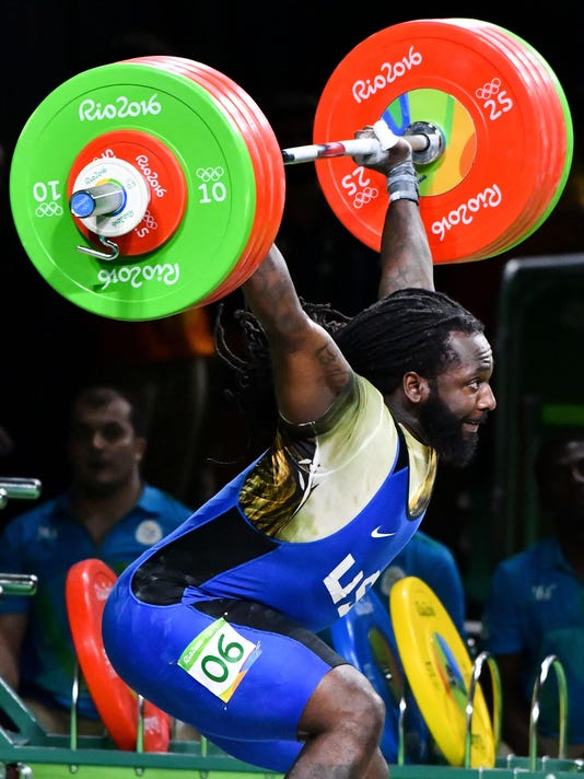 Olympics: Weightlifting