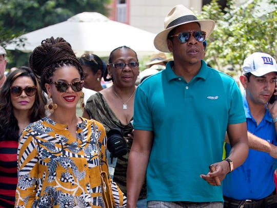 Beyonce and Jay-Z in Cuba