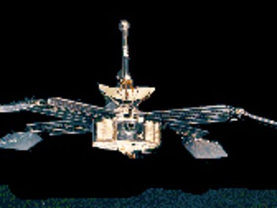 Mariner 4 Mars probe.
