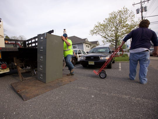 Belmar Department of Public Works employees removed