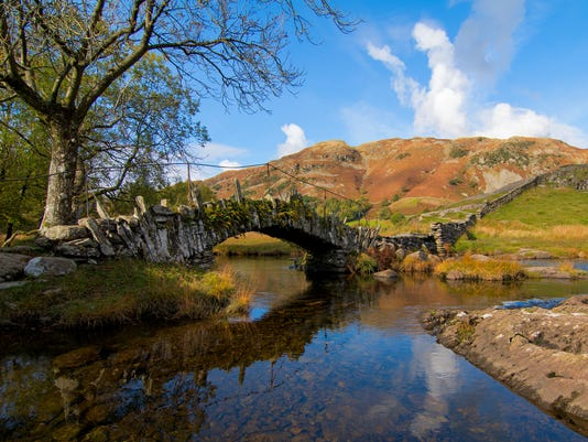Slaters Bridge, Little Langdale, Lake District