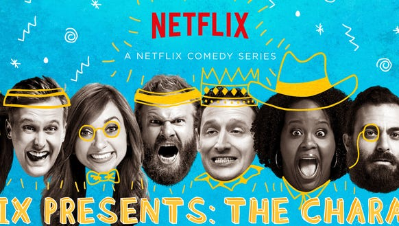 """Netflix Presents: The Characters"" debuts March 11."