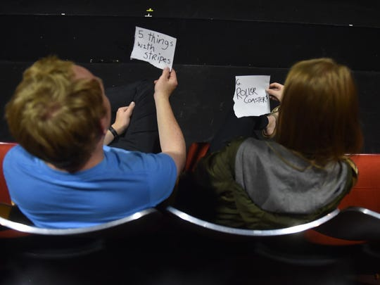 """Some audience members at Third Avenue Playhouse's """"Every"""