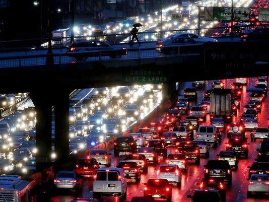 Tráfico Traffic autos carretera