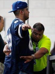 Las políticas de seguridad de la NFL requieren que