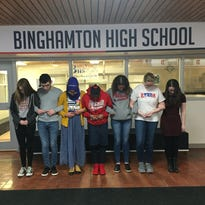 In Binghamton area, many local schools maintain protests within school walls