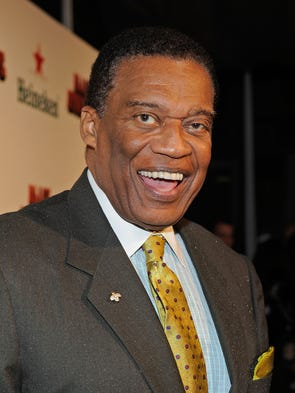 Actor Bernie Casey arrives at the Los Angeles premiere