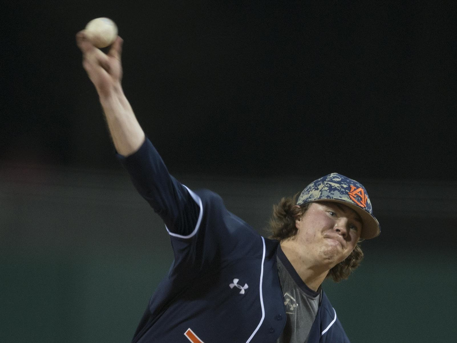 Auburn ace Keegan Thompson's status for the SEC Tournament is in question as he recovers from an elbow injury.