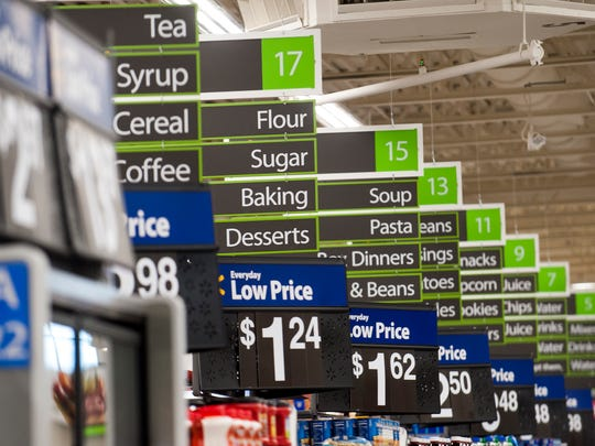 Walmart has started delivering groceries to the Montgomery area, charging a $9.95 fee for same-day orders.