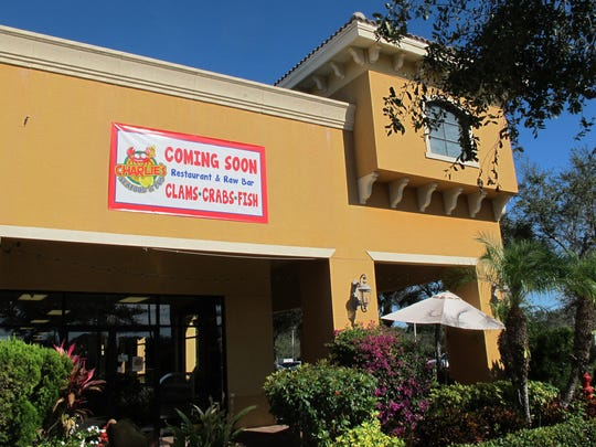Charlie's Seafood & Pub is preparing to open in the former space of Cider Press Cafe at Piper's Crossing retail center on Immokalee Road in North Naples.