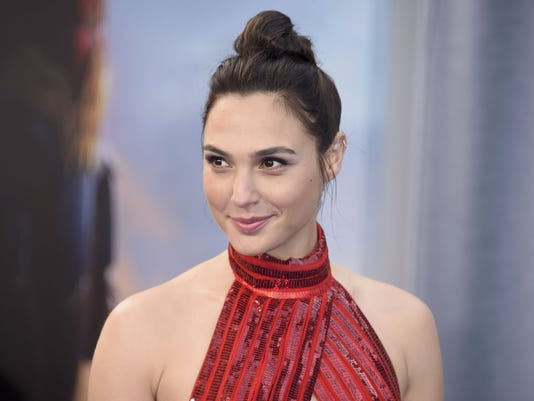AP PEOPLE-WONDER WOMAN-GAL GADOT A ENT FILE USA CA