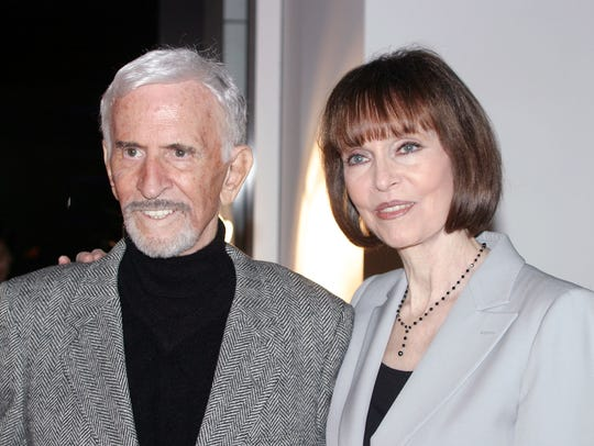"Don Adams and Barbara Feldon co-starred in ""Get Smart."""