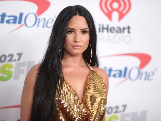 AP PEOPLE DEMI LOVATO A ENT USA CA