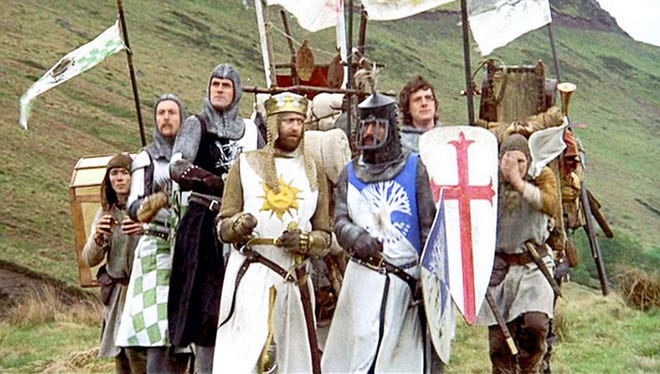 "The Historic Elsinore Theatre is kicking off its Wednesday Evening Film Series with the cult classic slapstick adventure comedy ""Monty Python and the Holy Grail,"" 7 p.m. Wednesday, Jan. 11."