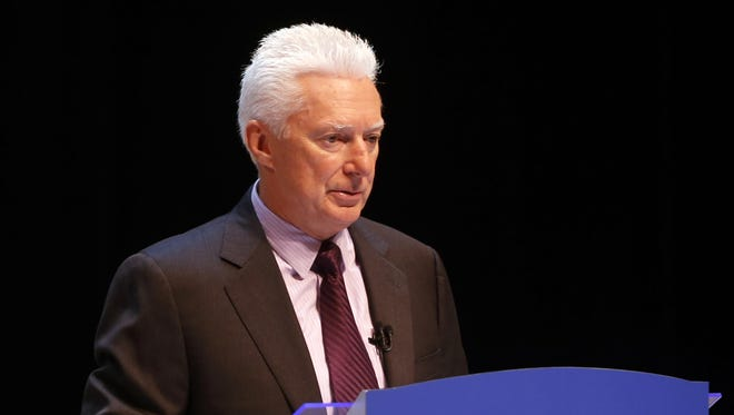 A.G. Lafley presides over his first annual meeting before regular shareholders since returning as CEO to P&G in May.