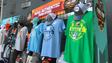 Some of the NCAA merchandise inside University of Phoenix