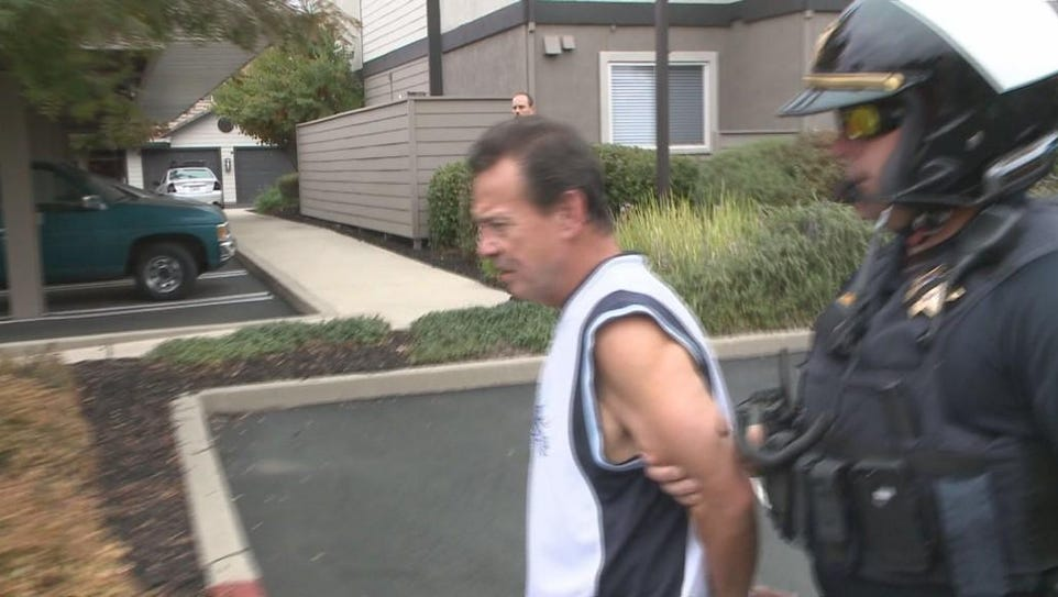 Daniel Rosario, 61, is accused of trying to run over