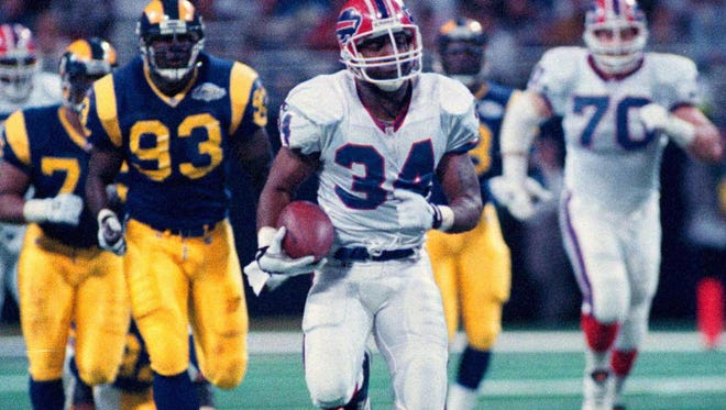 Thurman Thomas was a second-round pick in 1988 who became Buffalo's all-time leading rusher and a Pro Football Hall of Famer