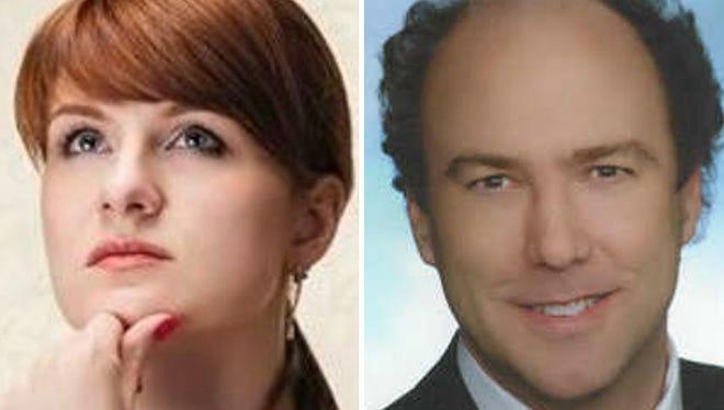 Maria Butina and Paul Erickson.