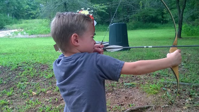 Traditional equipment is a great way to introduce kids to archery.