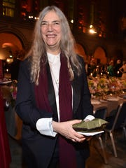 Patti Smith at the ceremony.