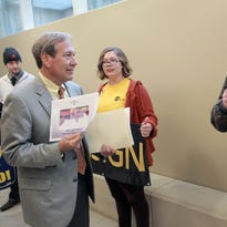 11 photos: UI town hall meeting with President Bruce Harreld