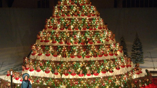 Abilene Baptist Church's annual Singing Christmas Tree will be moved outdoors to Evans Towne Center Park for 2020 to allow for COVID-19 precautions.