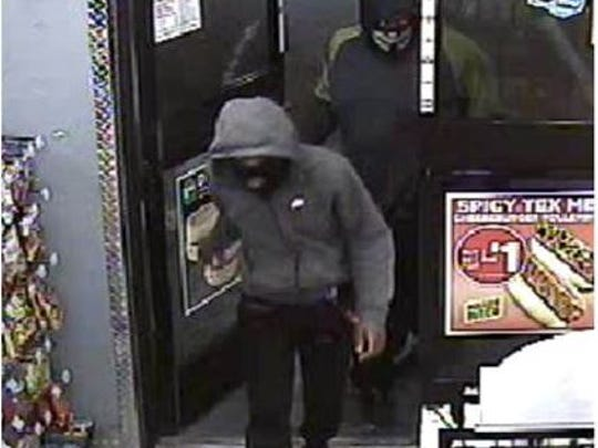 Two of three men who took more than $9,000 in cigarettes from a Bonita Springs store on Wednesday.