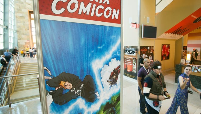 Phoenix Comicon is a pop culture convention that will take place May 25-28 at the Phoenix Convention Center.