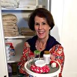 DIY Dutchess: Lazy Susan key to organizing linen closet