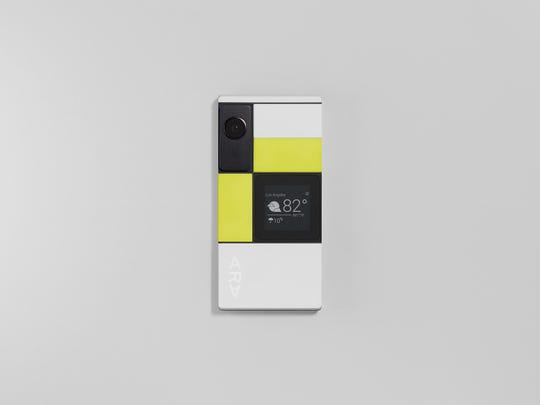 A view of Google's Project Ara modular smartphone.