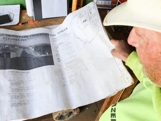 Rich Standt, site supervisor for Lazer Construction