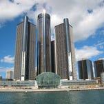 The Renaissance Center, headquarters of General Motors.