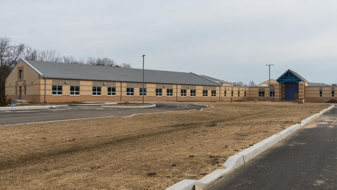 Lincoln Avenue Middle School during construction on Wednesday, December 20.