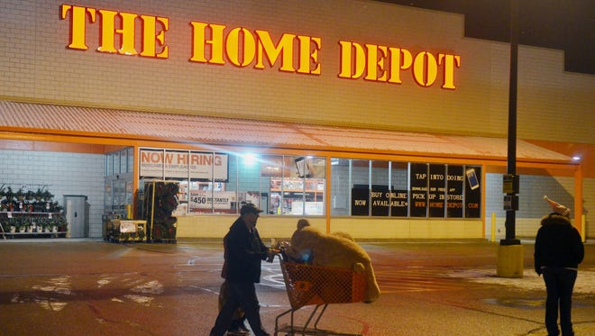 Home Depot was among the high-profile targets of cyber attacks this year.