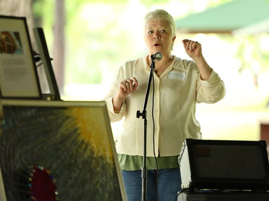 Rebecca Schmidt, a long time Baha'i and organizer of this event, spoke of her wish that attendees have a truly spiritual experience Sunday afternoon at Conger Park for the Unity in the Park.