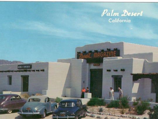 Desert Magazine building.