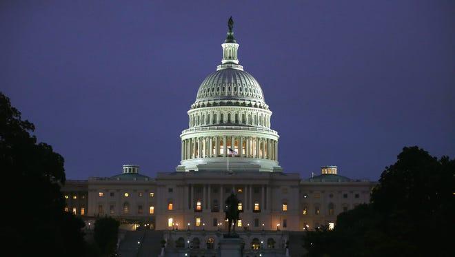 Two Republicans are challenging U.S. Sen. Chris Coons, D-Del.
