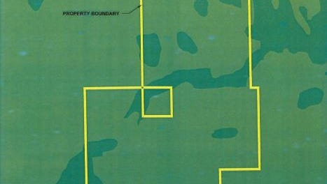 Location of proposed Verdana community, across from The Place at Corkscrew and extending to the Collier County line.