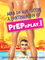 The campaign includes Spanish-language versions to help reach the targeted audience.